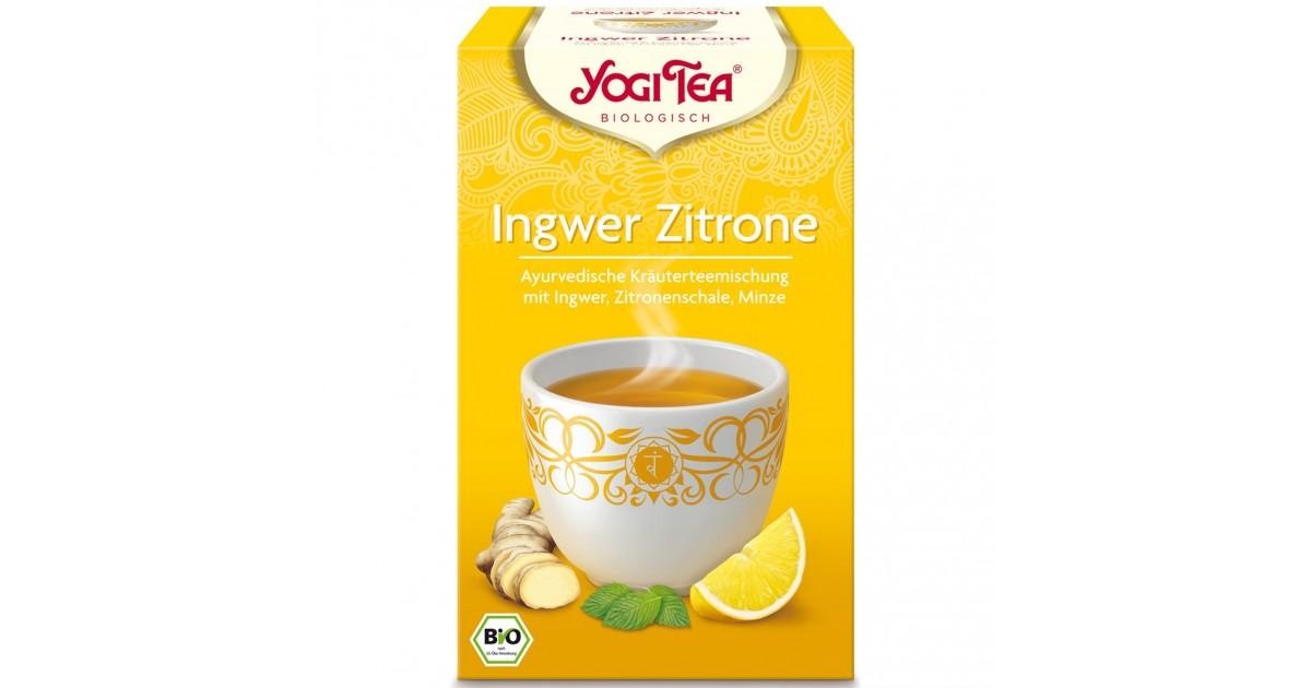 Yogi Tea - Ingwer Zitrone (17x1.8g)