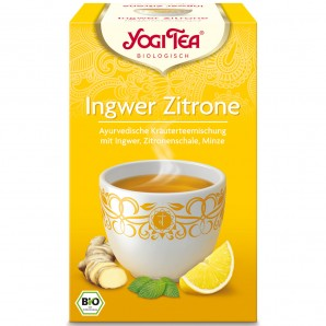 YOGI TEA ginger lemon (17 sachets)