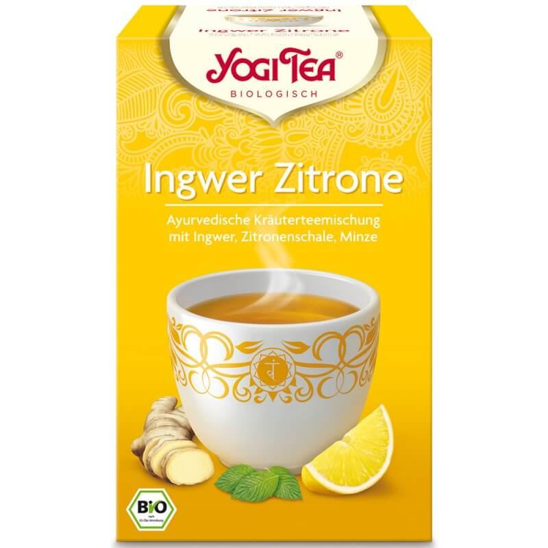 YOGI TEA Ingwer Zitrone (17 Beutel)