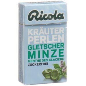 Ricola Herbal Pearls Glacier Mint Without Sugar (25g)