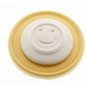Aromalife Duftstein Set Smile & Unterteller gelb