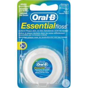 Oral-B Zahnseide Essentialfloss Mint gewachst (50m)