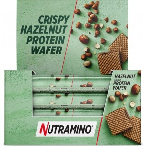 NUTRAMINO Nutra-Go Protein Wafer Hazeln (12x39g)
