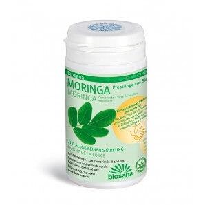 BIOSANA Moringa Blattpulver SPEZ Tabletten (120 Stk)