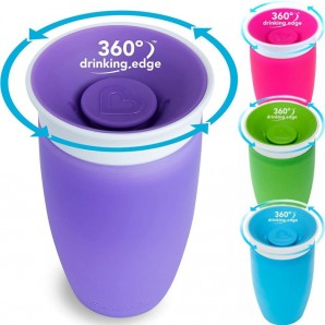 Munchkin Miracle 360° cup overflow proof (296ml)