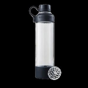 BlenderBottle Mantra Glas Schwarz (600ml)