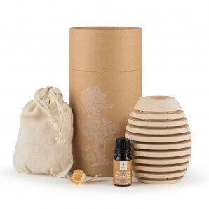 Aromalife Pinus Cembra bois de pin parfumé avec huile essentielle et copeaux