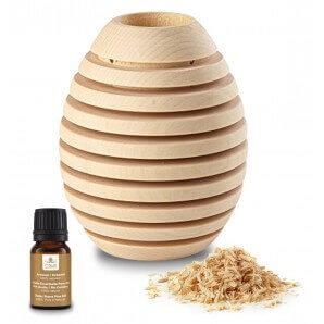 Aromalife Pinus Cembra Duftholz Pine XL inkl. ätherischem Öl & Späne