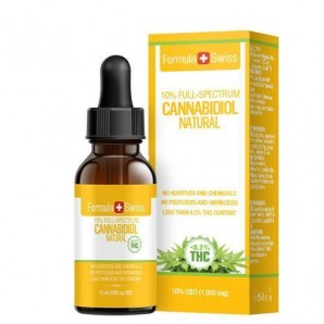 Formula Swiss 10% Full Spectrum CBD Oil in MCT-Oil Pipette (10ml)