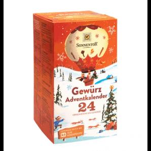 Sonnentor advent calendar spices (24 bags)