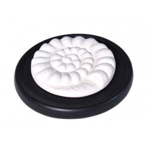 Aromalife Fragrance Stone Set Spiral & Saucer Black
