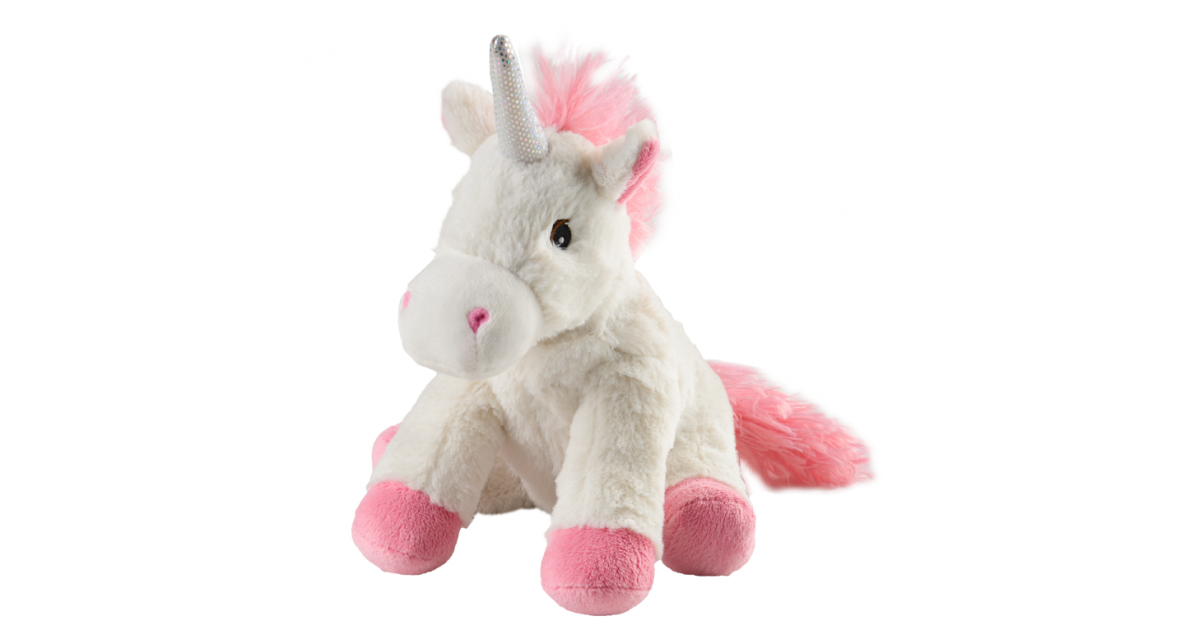 WARMIES Minis Warmth Stuffed Unicorn