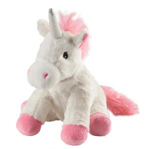 WARMIES Minis Warmth Stuffed Unicorn