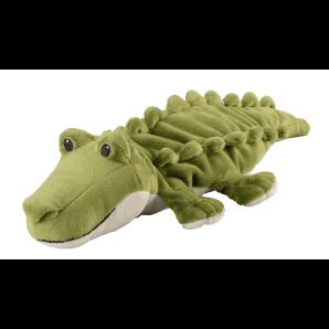WARMIES Minis Wärme-Stofftier Krokodil Lavendel