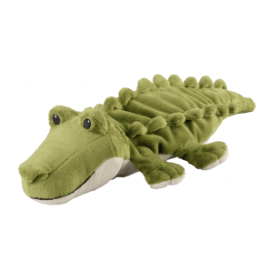 WARMIES Minis warmth soft toy crocodile lavender