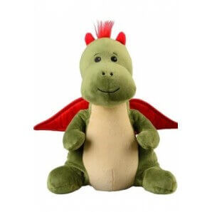 WARMIES heat stuffed toy dragon