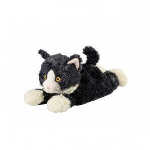 WARMIES warm stuffed animal lying cat