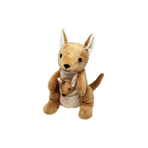 WARMIES warm stuffed toy Kangaroo