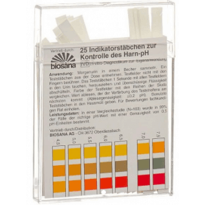 Biosana bandelettes indicatrices pH 4,5-9,25 (25 pièces)