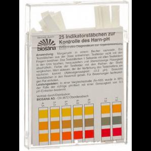 Biosana Indikatorstäbchen pH 4.5-9.25 (25 Stk)