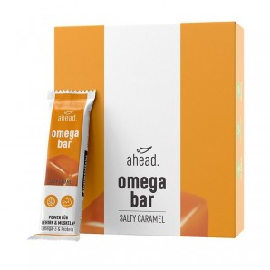 ahead. omega bar Salty Caramel 50g (12 Stk)