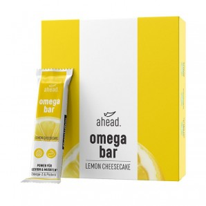 ahead. omega bar Lemon Cheesecake 50g (12 Stk)