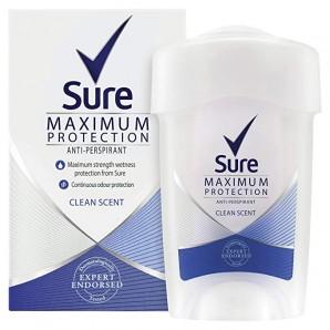 Rexona Deodorant Cream Stick Women Maximum Protection Clean Scent Anti-Perspirant (45ml)