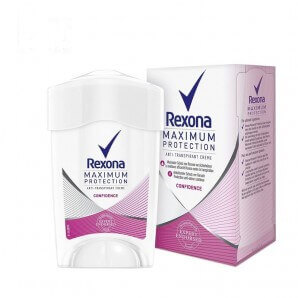 Rexona Deodorant Cream Stick Women Maximum Protection Confidence Anti-Transpirant (45ml)