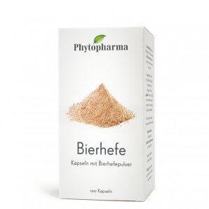Phytopharma Bierhefe Kapseln (100 Stk)