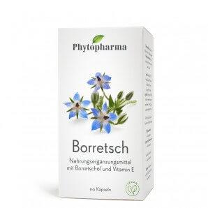 Phytopharma Borage Capsules 500mg (110 pcs)