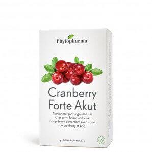 Phytopharma Cranberry Forte Akut Tabletten (30 Stk)