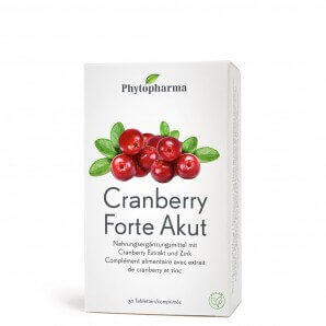 Phytopharma Cranberry Forte Akut Tabletten (30 Stk)