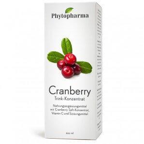 Phytopharma Cranberry Trink-Konzentrat (200 ml)