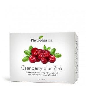 Phytopharma Cranberry plus Zink Beutel (20 Stk)
