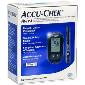 Accu Chek - Aviva Set (Inkl. 1x10 Tests)
