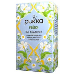 Pukka Relax Tea Organic Bag (20 pcs)