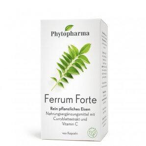 Phytopharma Gélules Ferrum Forte (40 pièces)