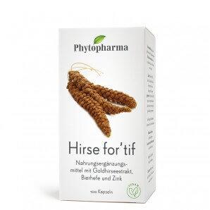 Phytopharma Hirse for'tif Kapseln (100 Stk)