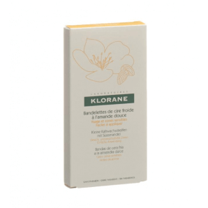 KLORANE hair removal strips for face (6 x 2 pieces)