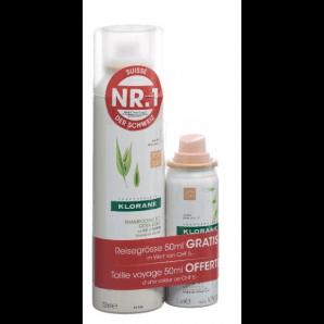 KLORANE dry shampoo oat tinted (150ml) + (50ml)