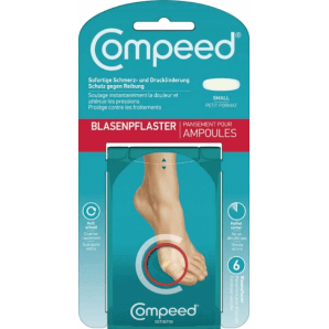 Compeed blister plasters small (6 pieces)