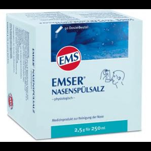 EMSER sel de rinçage nasal (50 sachets x 2,5g)