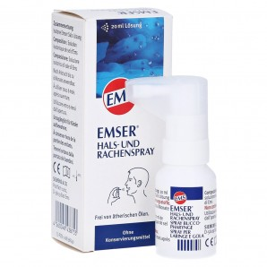 EMSER throat and pharynx spray (20 ml)