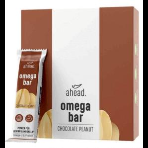 ahead. omega bar Chocolate Peanut 50g (12 Stk)