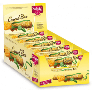 SCHÄR Display Cereal Bar bars gluten-free (25 x 25g)