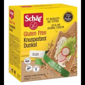 SCHÄR Knusperbrot dunkel glutenfrei (125g)