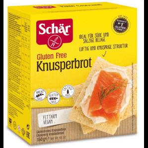 SCHÄR Knusperbrot glutenfrei (150g)