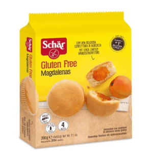 SCHÄR Magdalena's cake with apricot jam (200g)