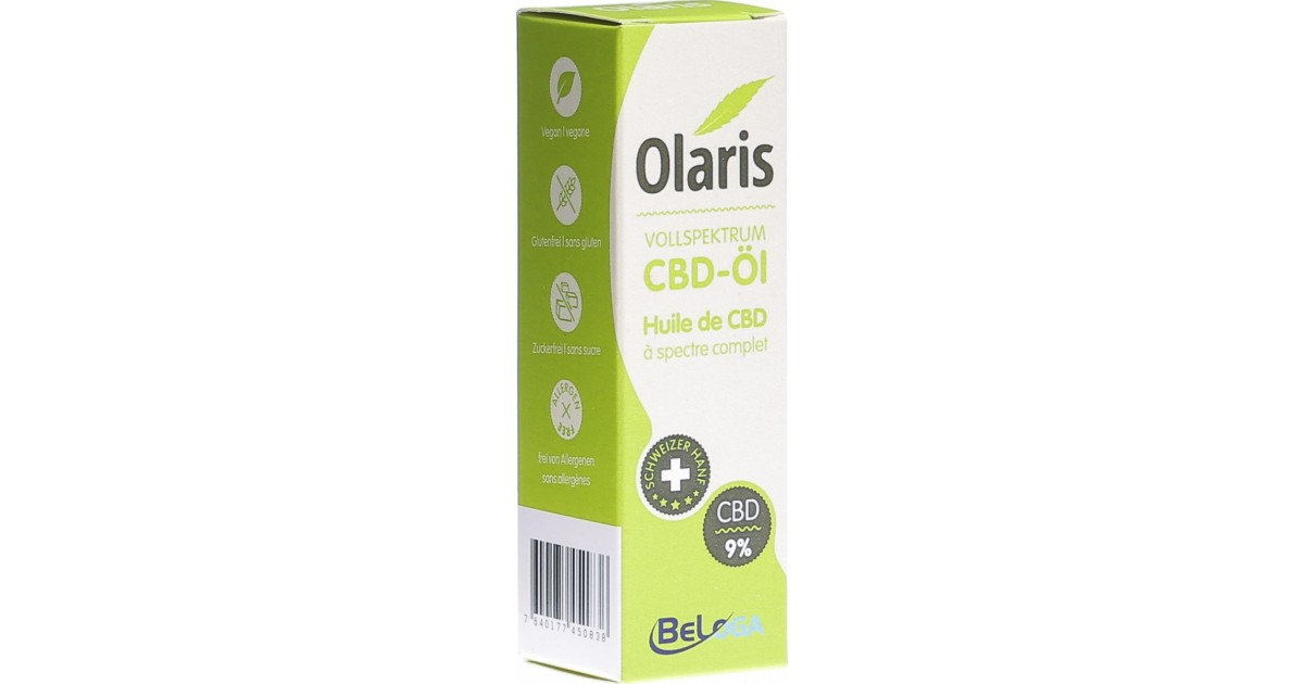 Olaris - CBD-Öl Vollspektrum 9% (10ml)