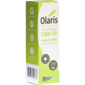 Olaris Vollspektrum Hanfextrakt 9% (10ml)